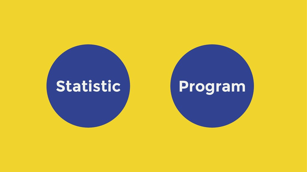 Statistic Program