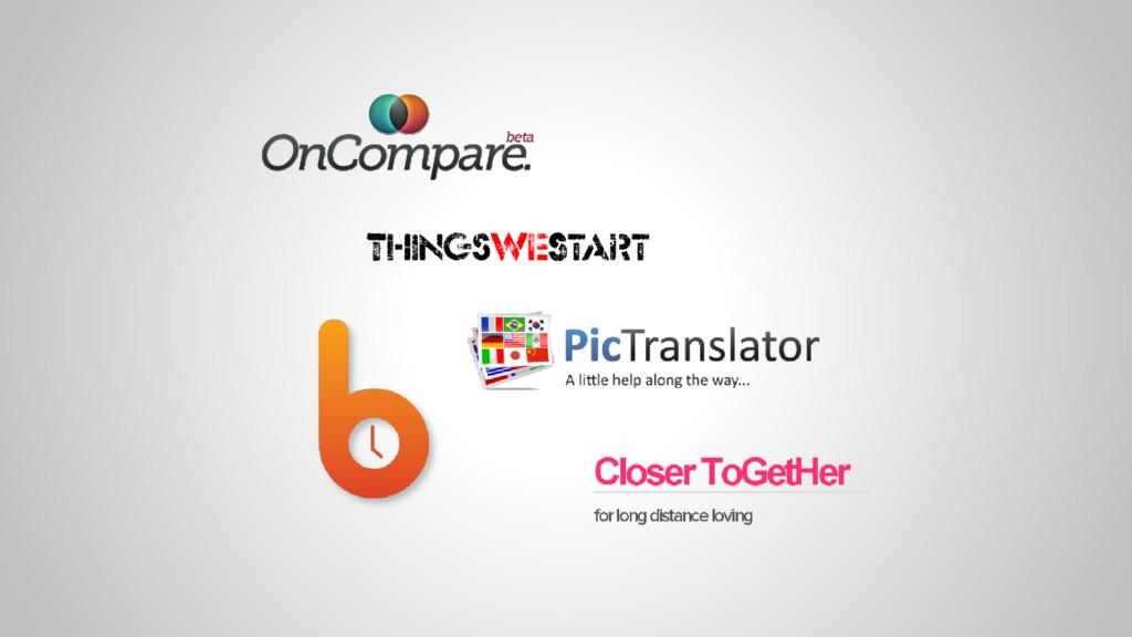 ThingsWeStart