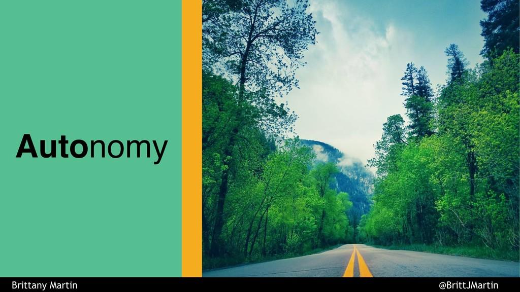 LookBook Autonomy Brittany Martin @BrittJMartin