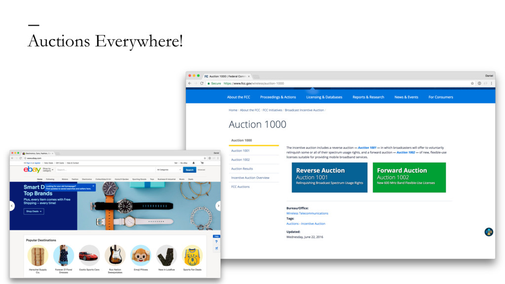 Auctions Everywhere! —