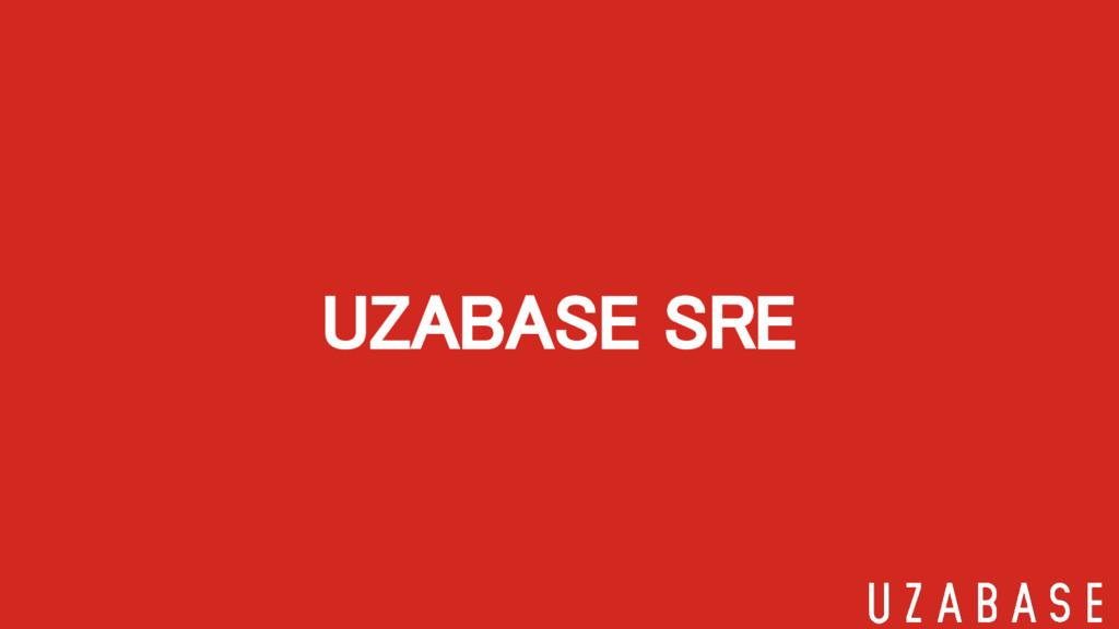 UZABASE SRE