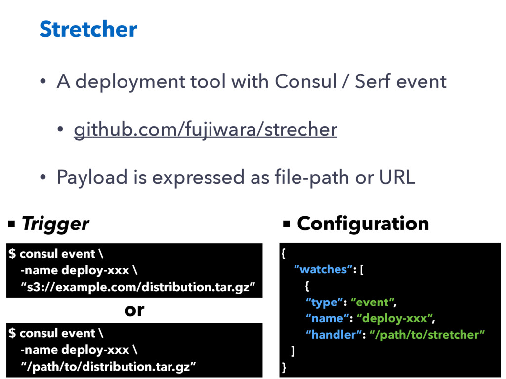 Stretcher • A deployment tool with Consul / Ser...