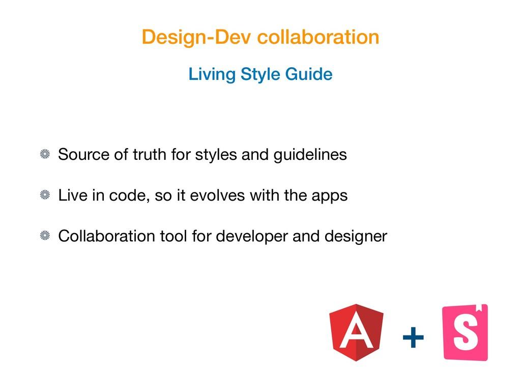 Design-Dev collaboration Living Style Guide Sou...