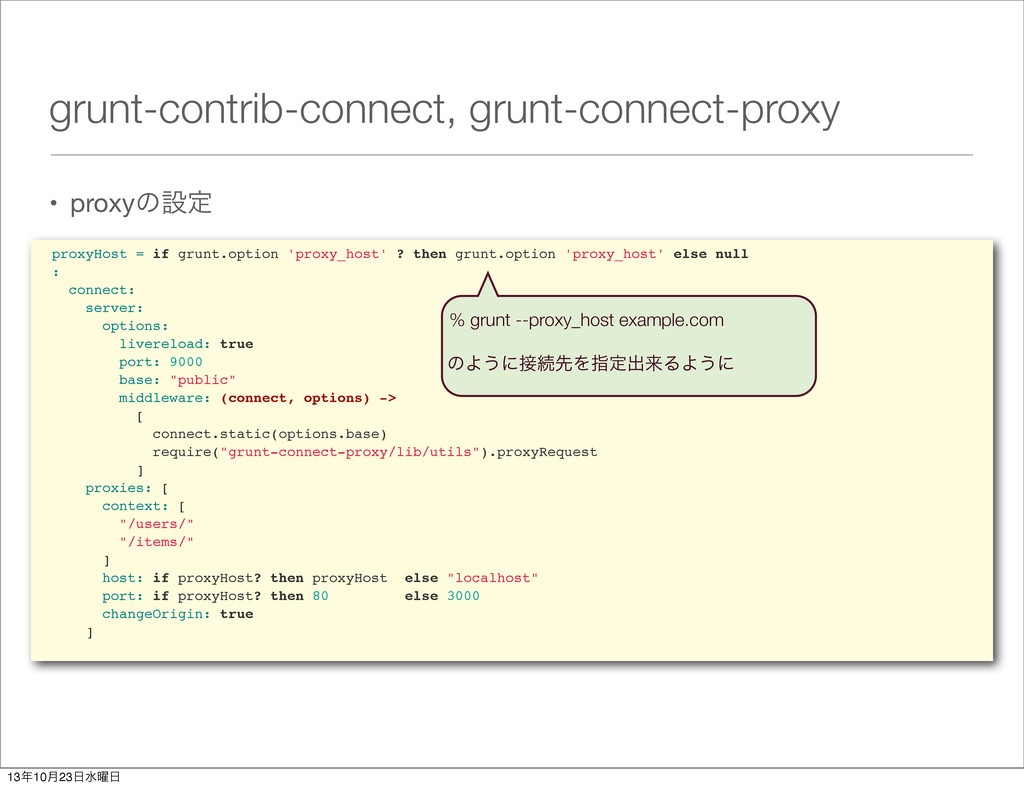 grunt-contrib-connect, grunt-connect-proxy • pr...