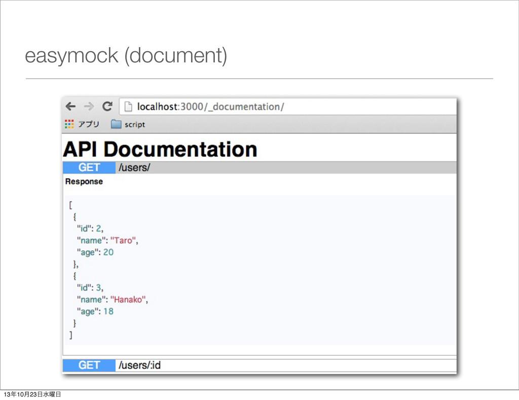 easymock (document) 1310݄23ਫ༵
