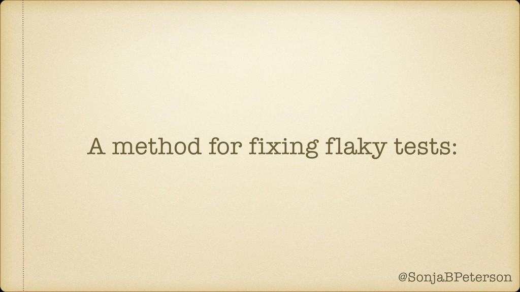 @SonjaBPeterson @SonjaBPeterson A method for fi...