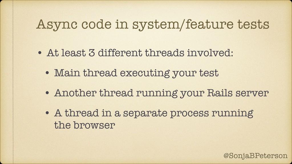 @SonjaBPeterson @SonjaBPeterson Async code in s...