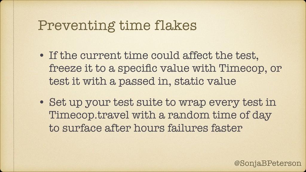 @SonjaBPeterson @SonjaBPeterson Preventing time...