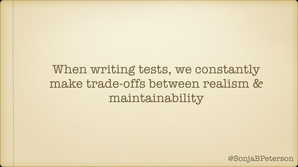 @SonjaBPeterson @SonjaBPeterson When writing te...