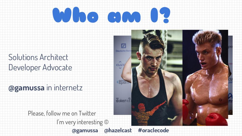 @gamussa @hazelcast #oraclecode Solutions Archi...