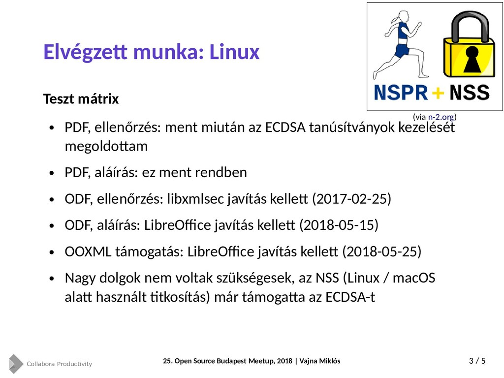 Collabora Productivity 25. Open Source Budapest...