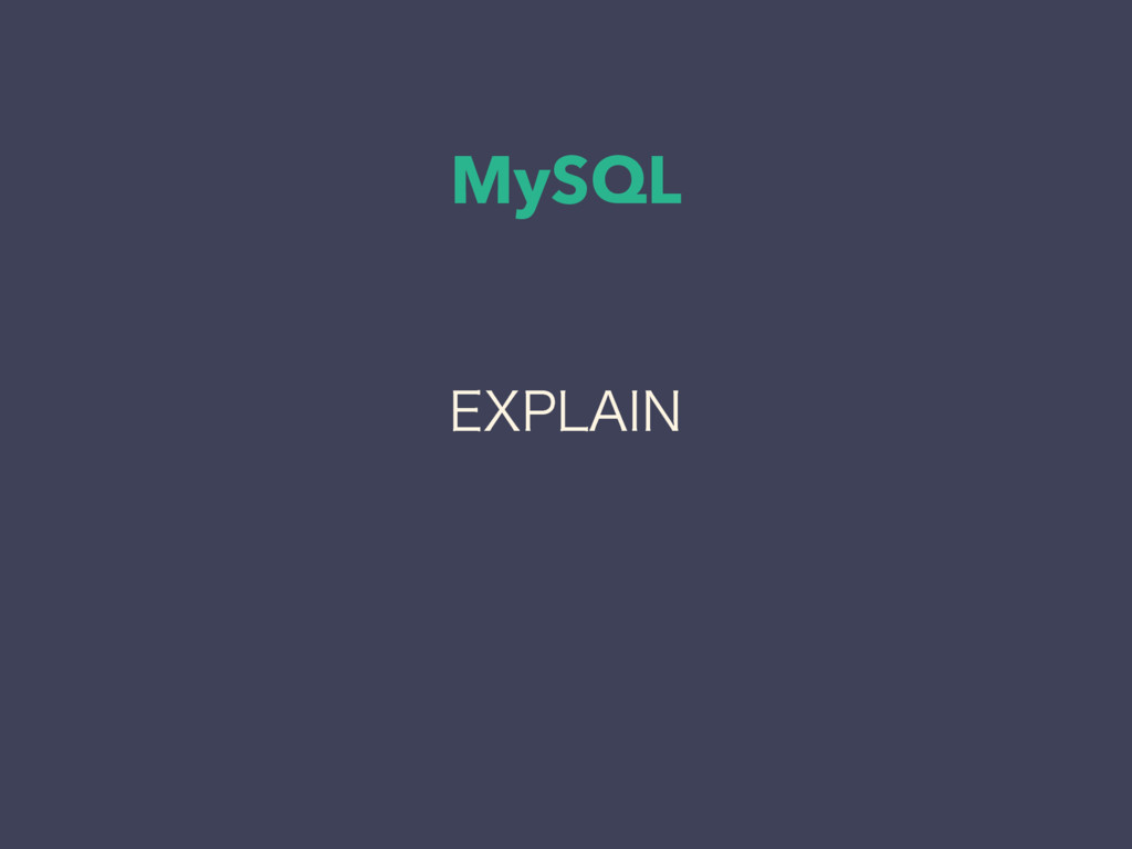 "MySQL &91-""*/"