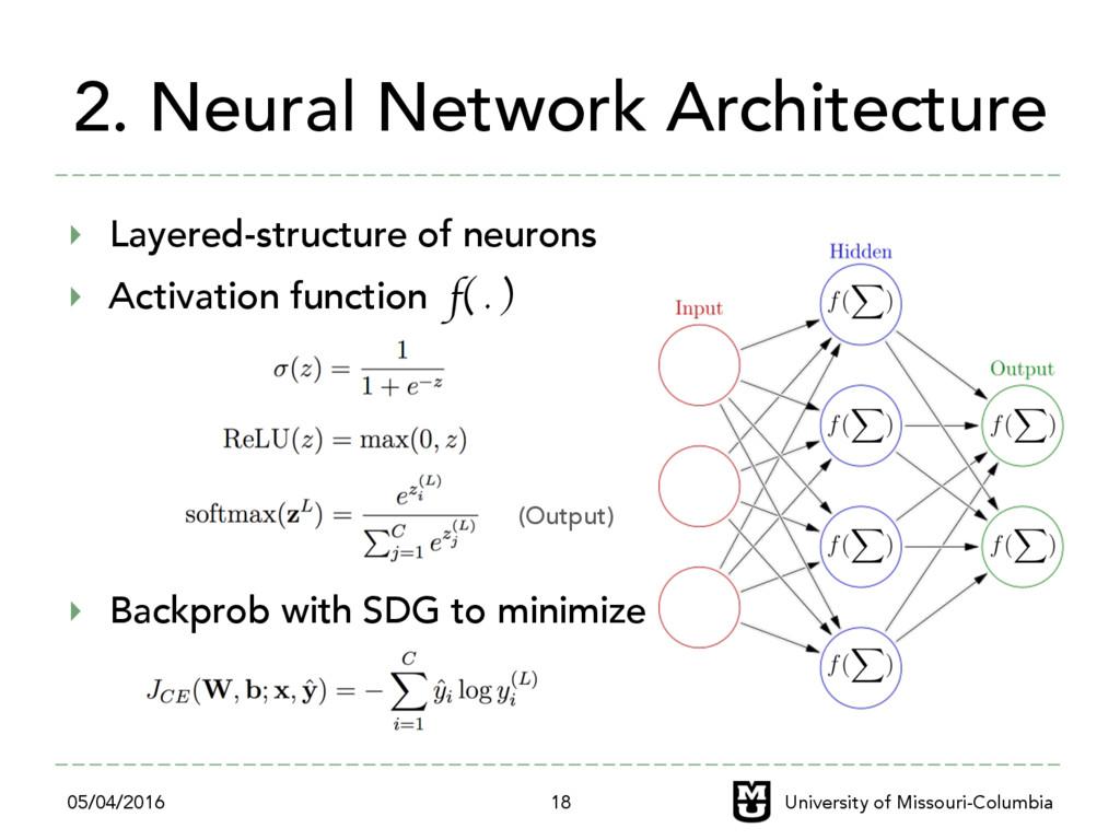 2. Neural Network Architecture ‣ Layered-struc...