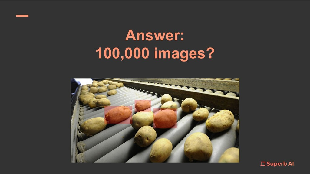 Answer: 100,000 images?