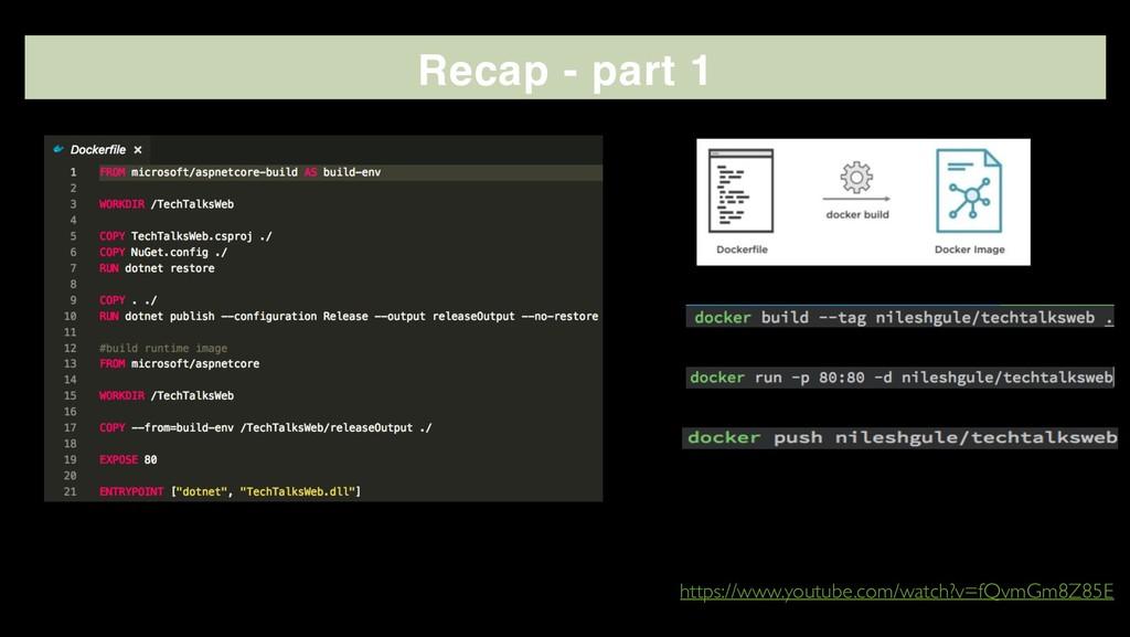 Recap - part 1 - https://www.youtube.com/watch?...