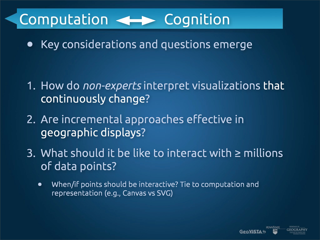 • Key considerations and questions emerge 1. Ho...