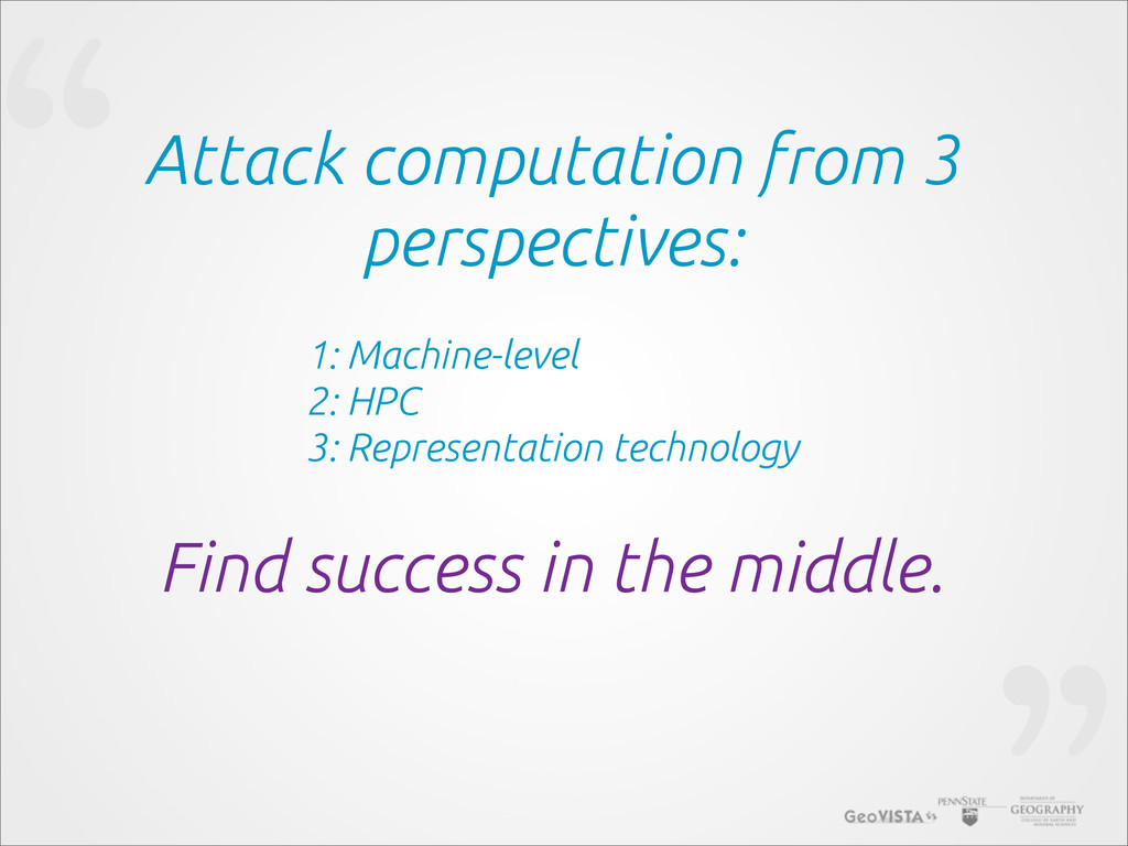 """""""Attack computation from 3 perspectives: Find s..."""