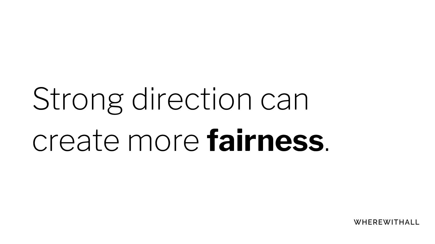 Knowing our default
