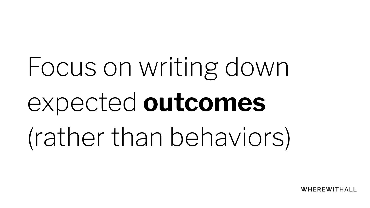 Treat team expectation docs as living documents!