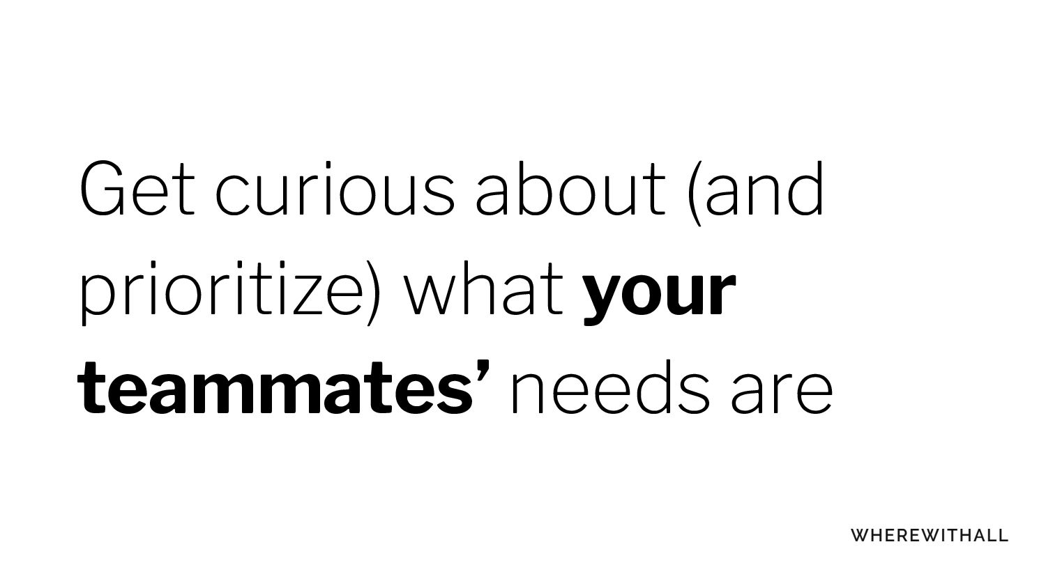Open Q&A! You can always email me: lara@wherewi...
