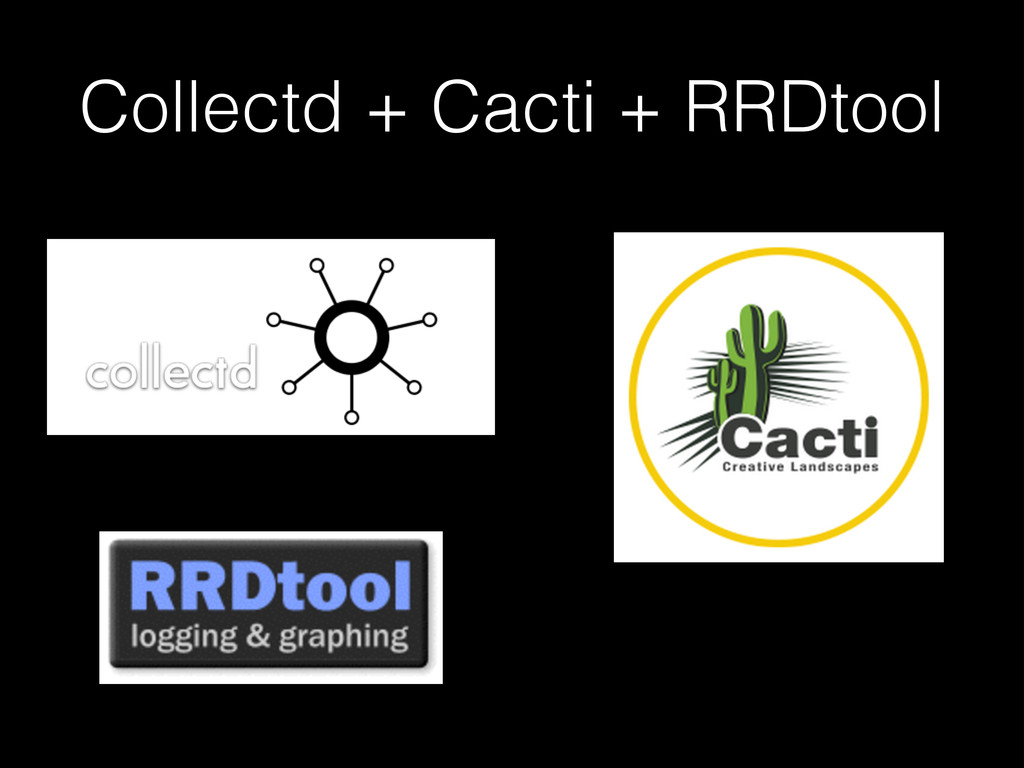 Collectd + Cacti + RRDtool