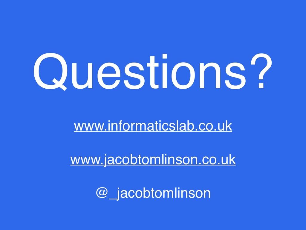 www.informaticslab.co.uk www.jacobtomlinson.co....