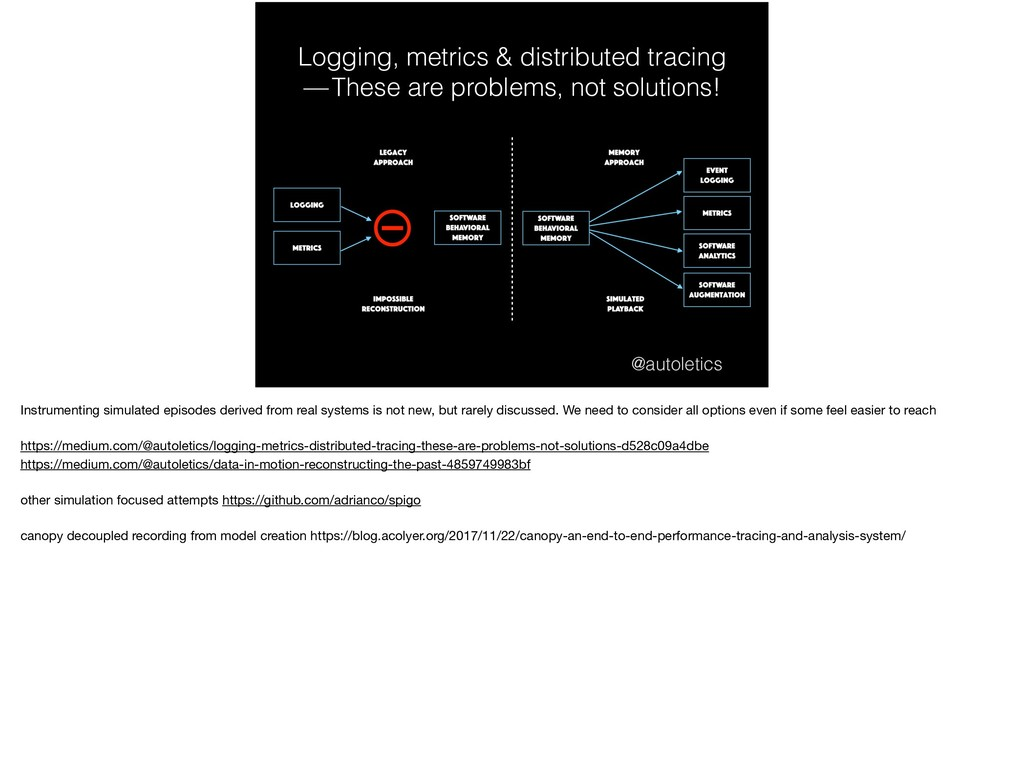 Logging, metrics & distributed tracing  — These...