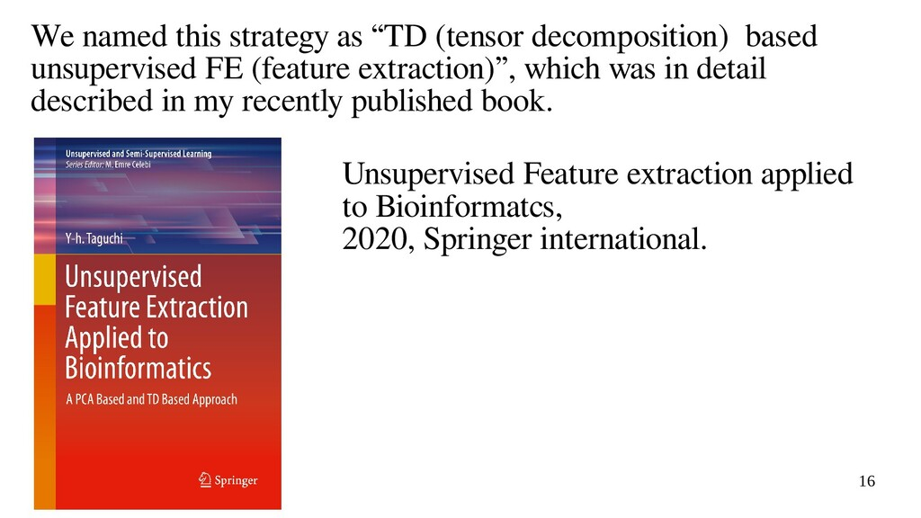 """16 We named this strategy as """"TD (tensor decomp..."""