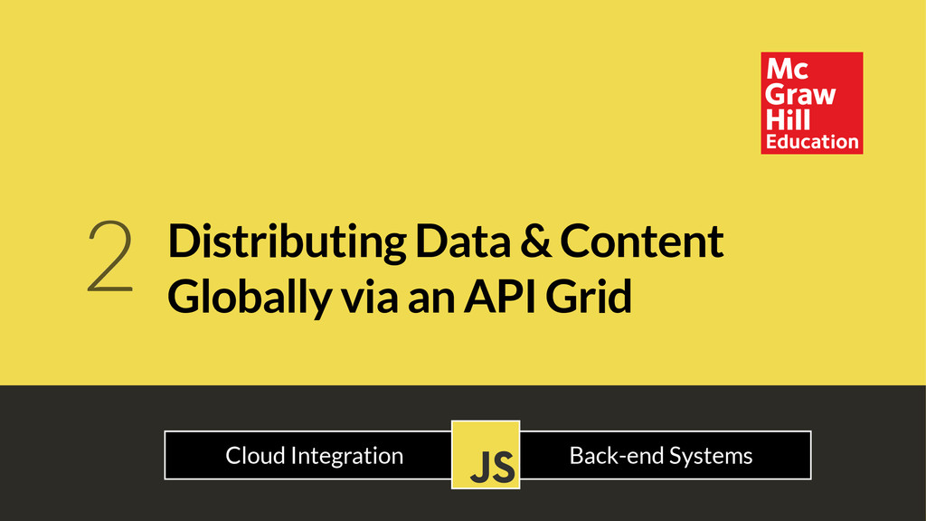 Distributing Data & Content Globally via an API...