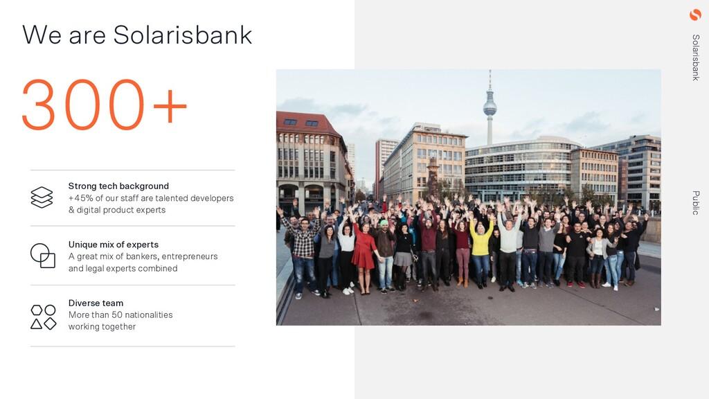 Solarisbank Public Solarisbank Public 300+ We a...
