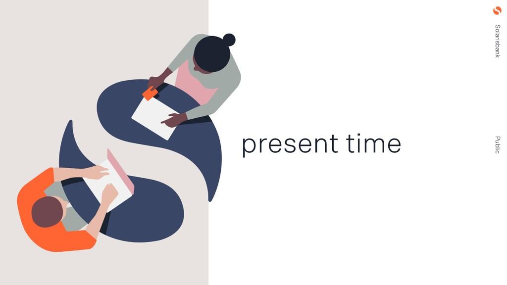 Solarisbank Public present time