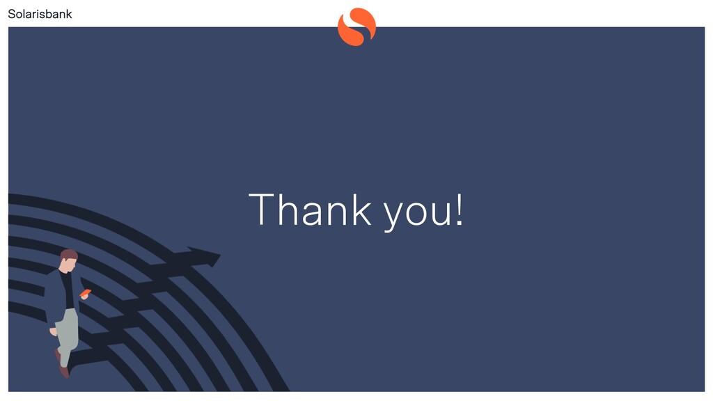 Solarisbank Public Thank you!