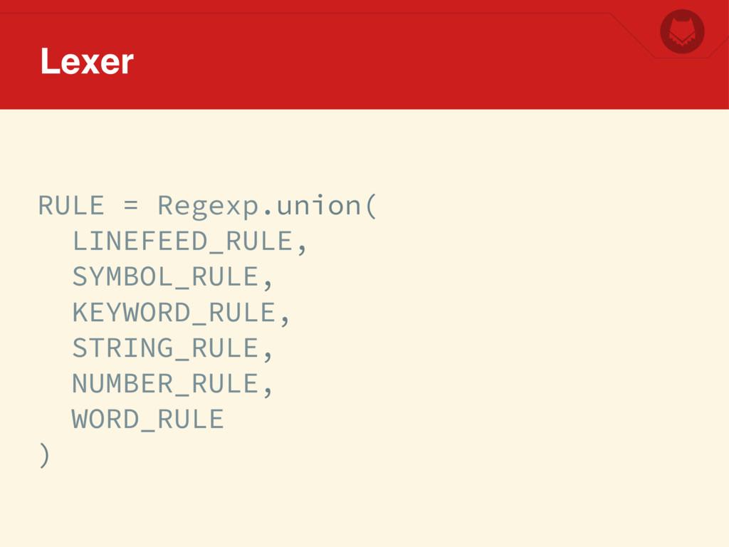 RULE = Regexp.union( LINEFEED_RULE, SYMBOL_RULE...