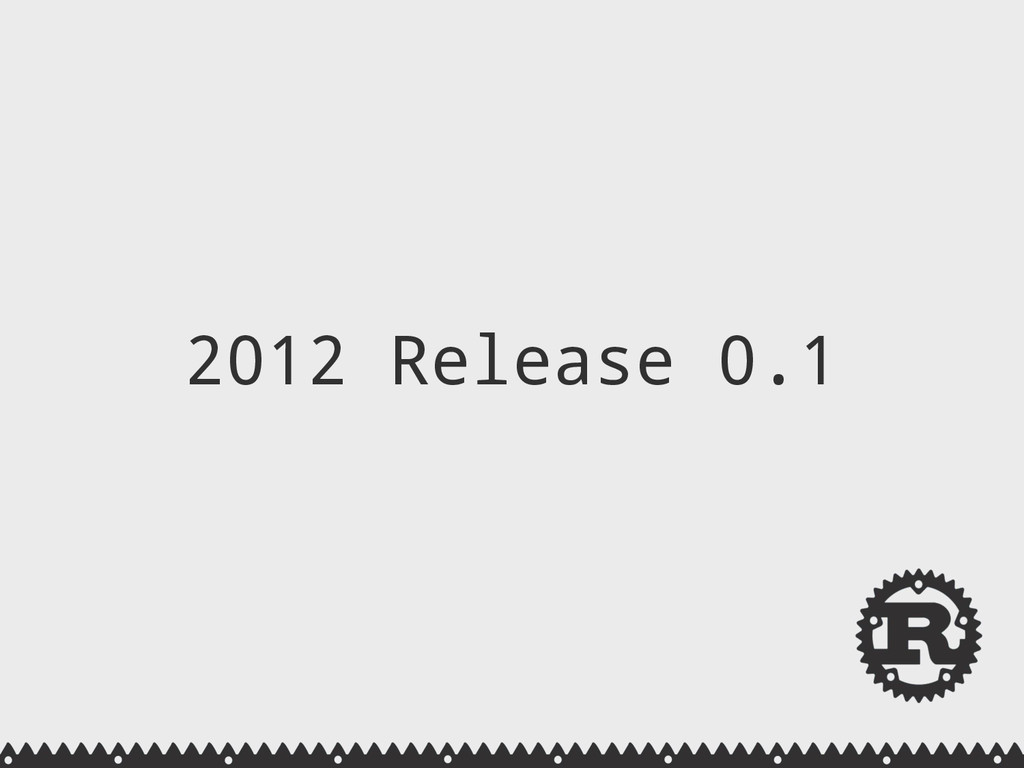 2012 Release 0.1