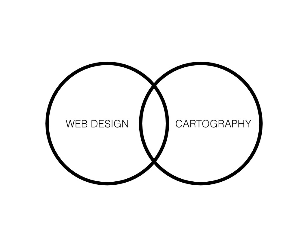 WEB DESIGN CARTOGRAPHY