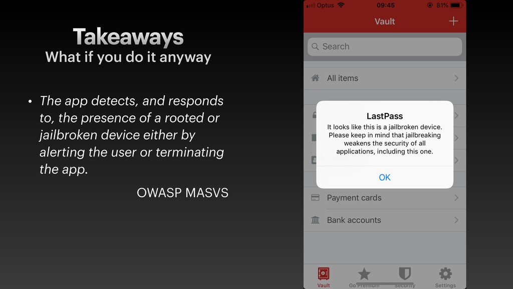 Takeaways • The app detects, and responds to, t...