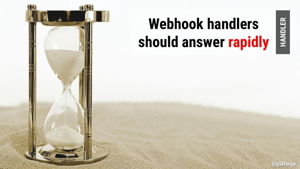 @glaforge Webhook handlers should answer rapidl...