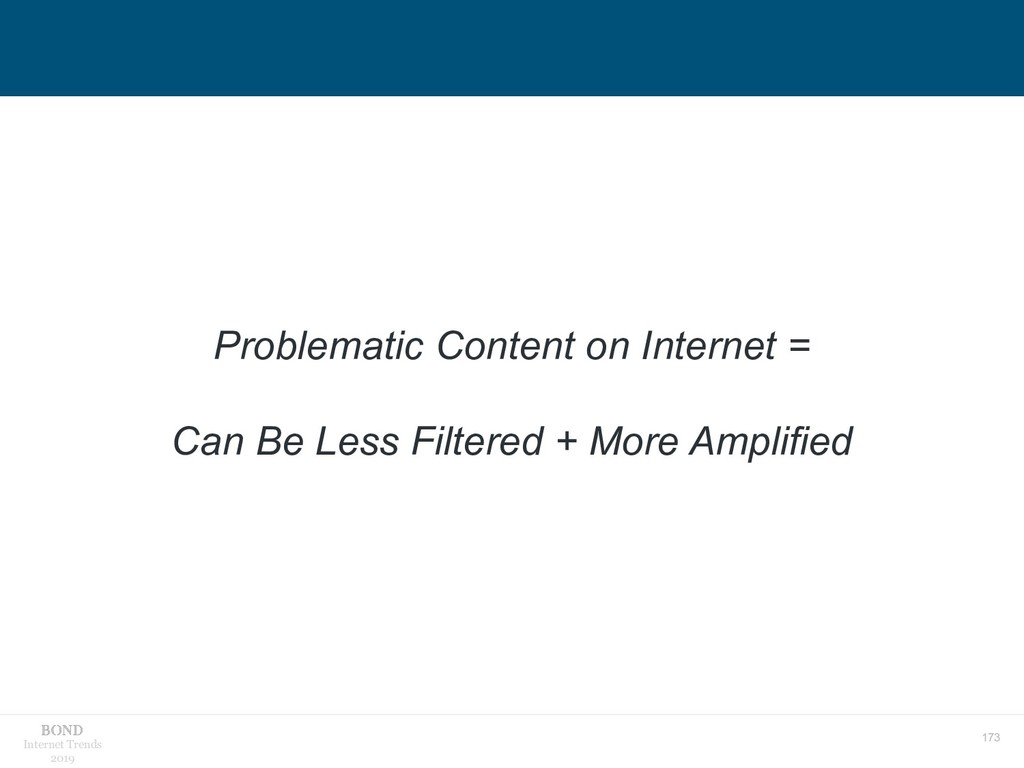 173 Internet Trends 2019 Problematic Content on...