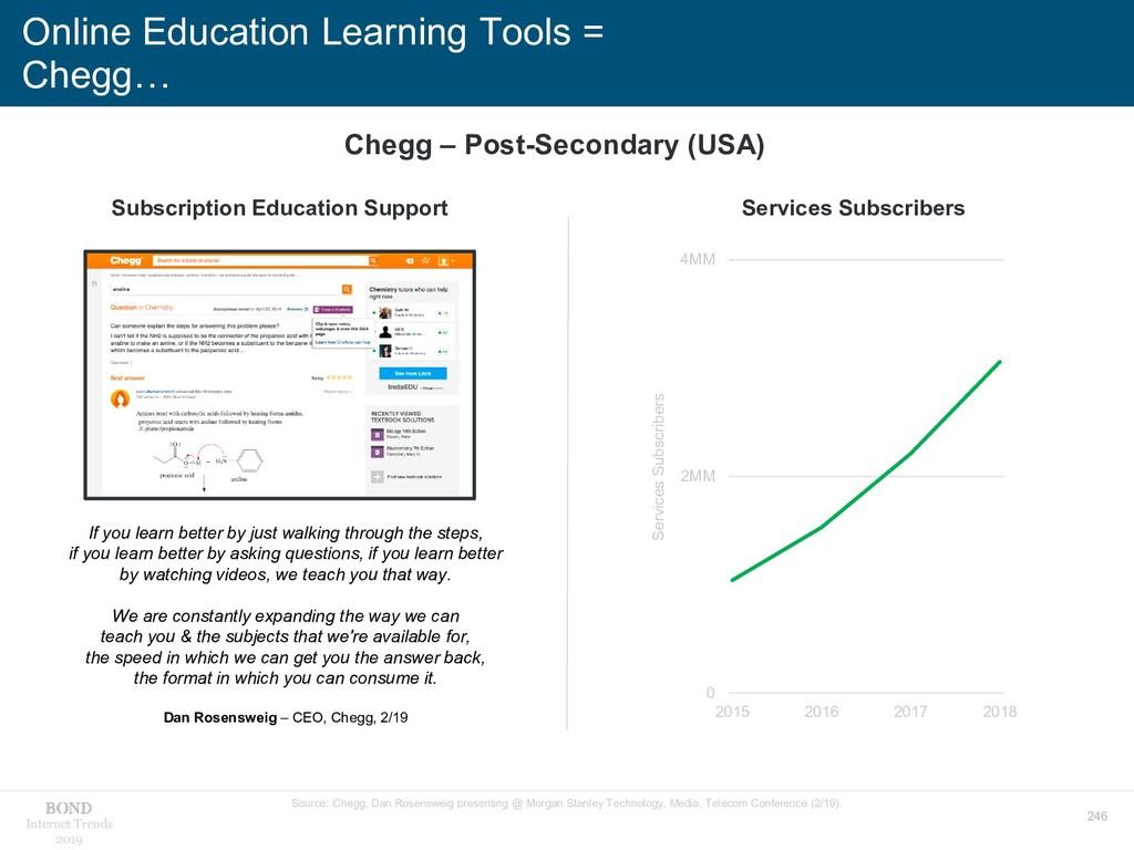246 Internet Trends 2019 Online Education Learn...