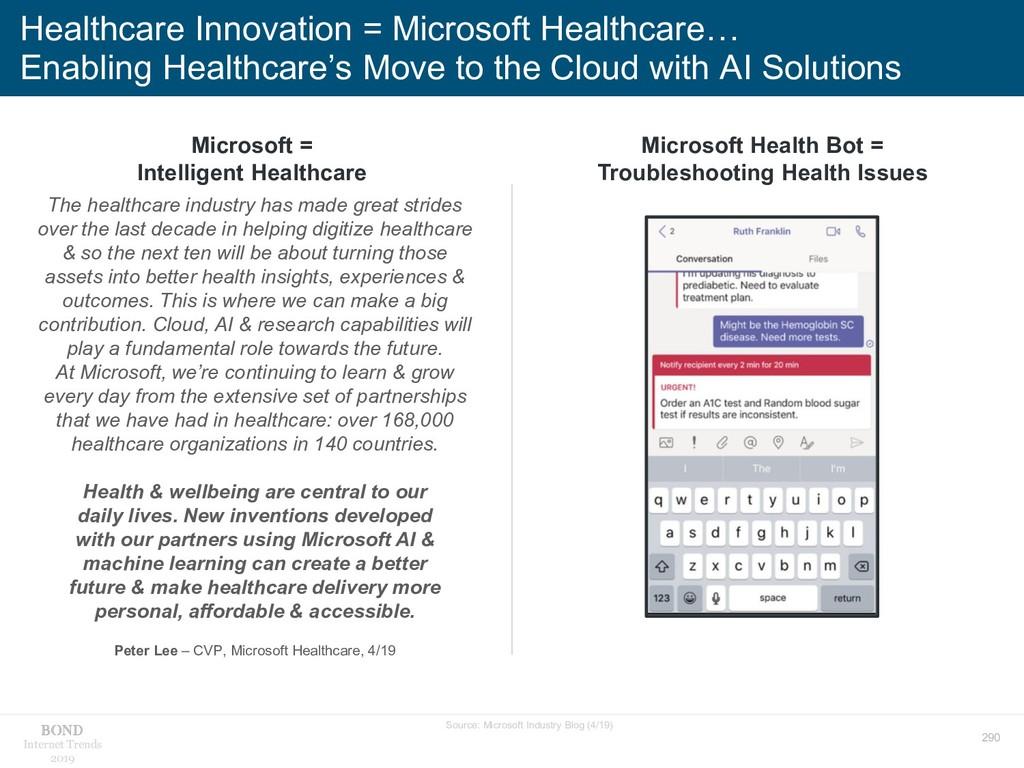 290 Internet Trends 2019 Healthcare Innovation ...