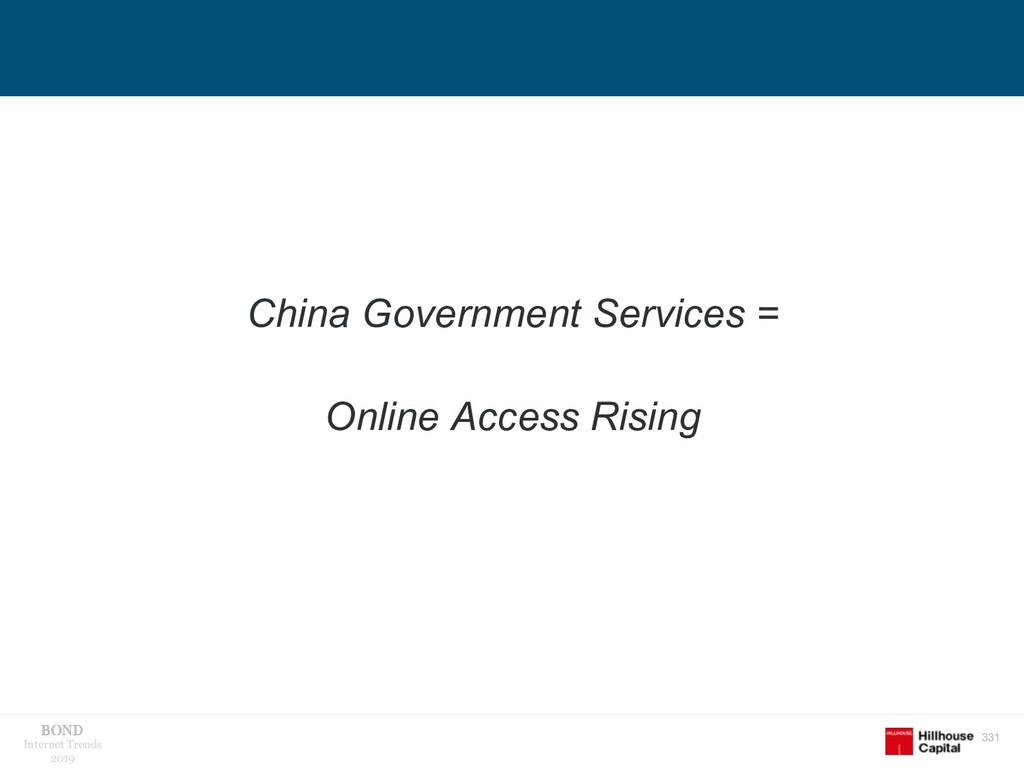 331 Internet Trends 2019 China Government Servi...