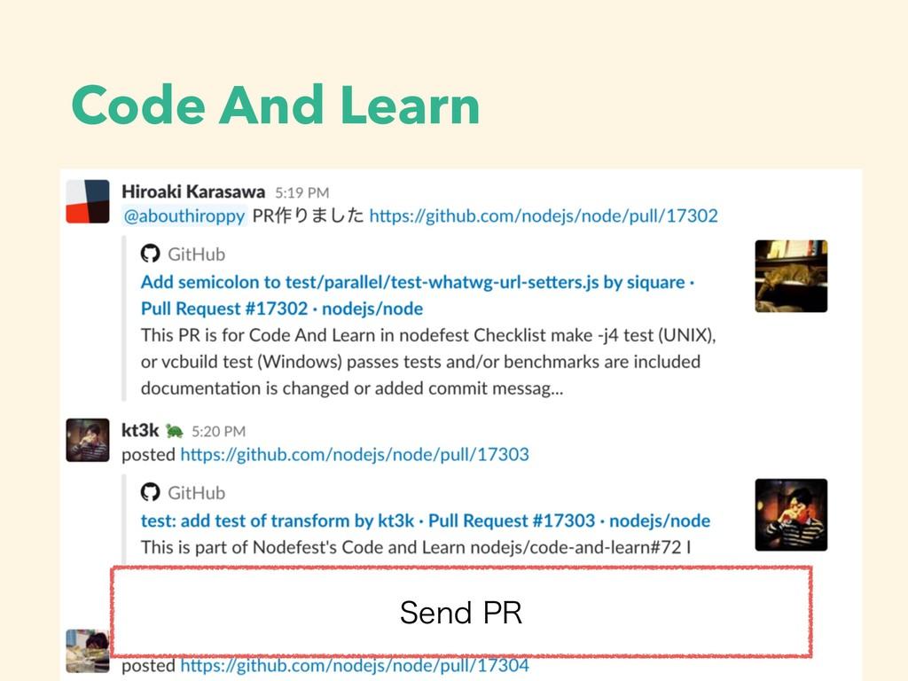 Code And Learn 4FOE13