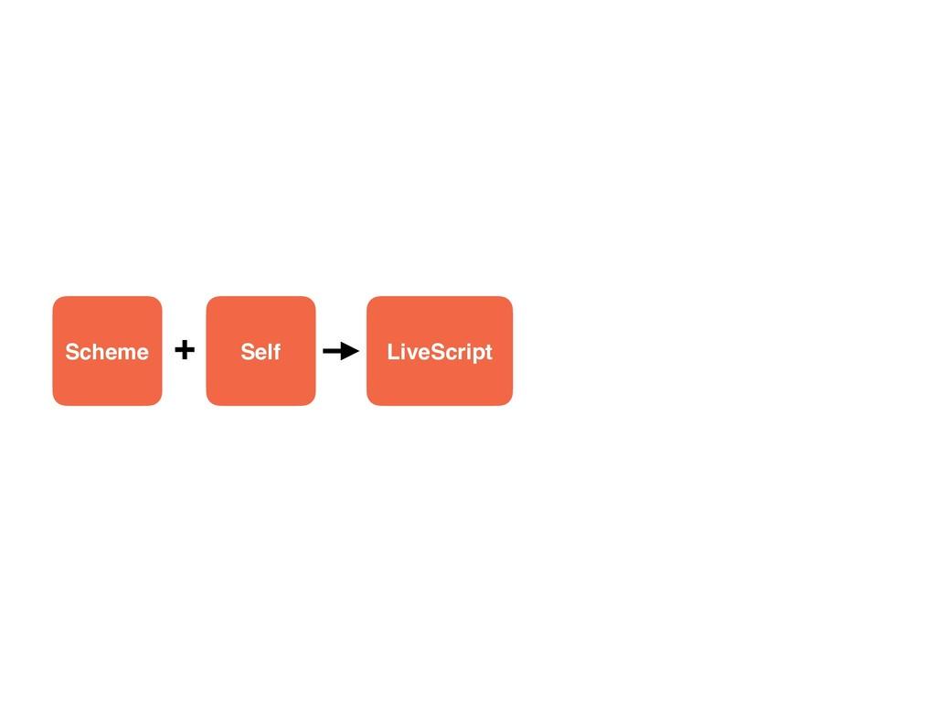 Scheme Self LiveScript +