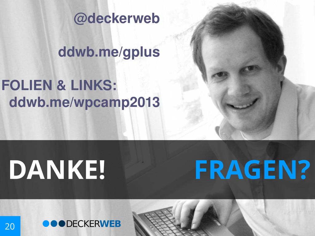 @decker web ddwb.me/gpl us FOLIEN & LINKS: ddwb...