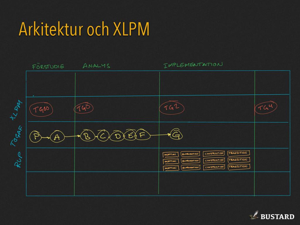 BUSTARD Arkitektur och XLPM