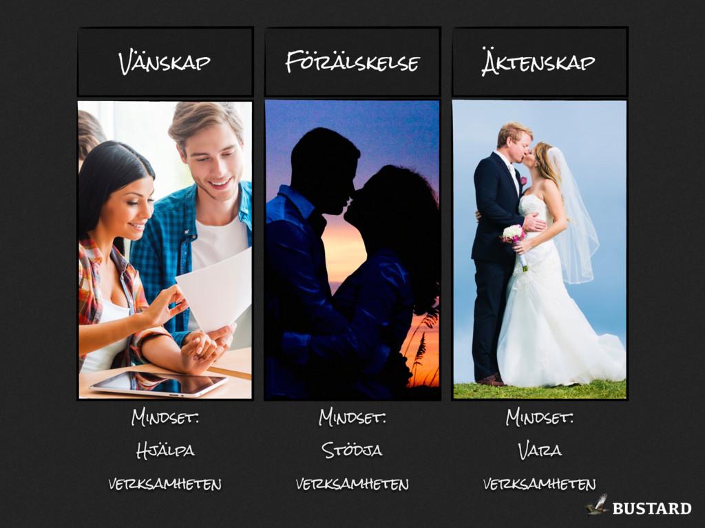 BUSTARD Vänskap Förälskelse Äktenskap Mindset: ...
