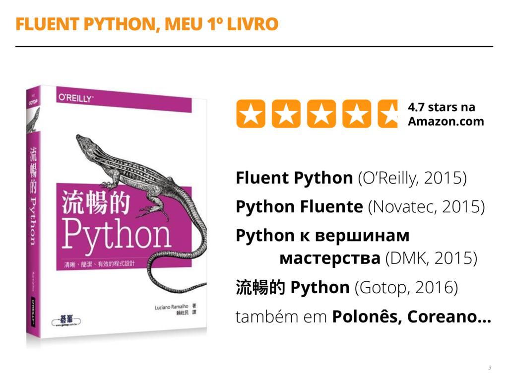 FLUENT PYTHON, MEU 1º LIVRO Fluent Python (O'Re...