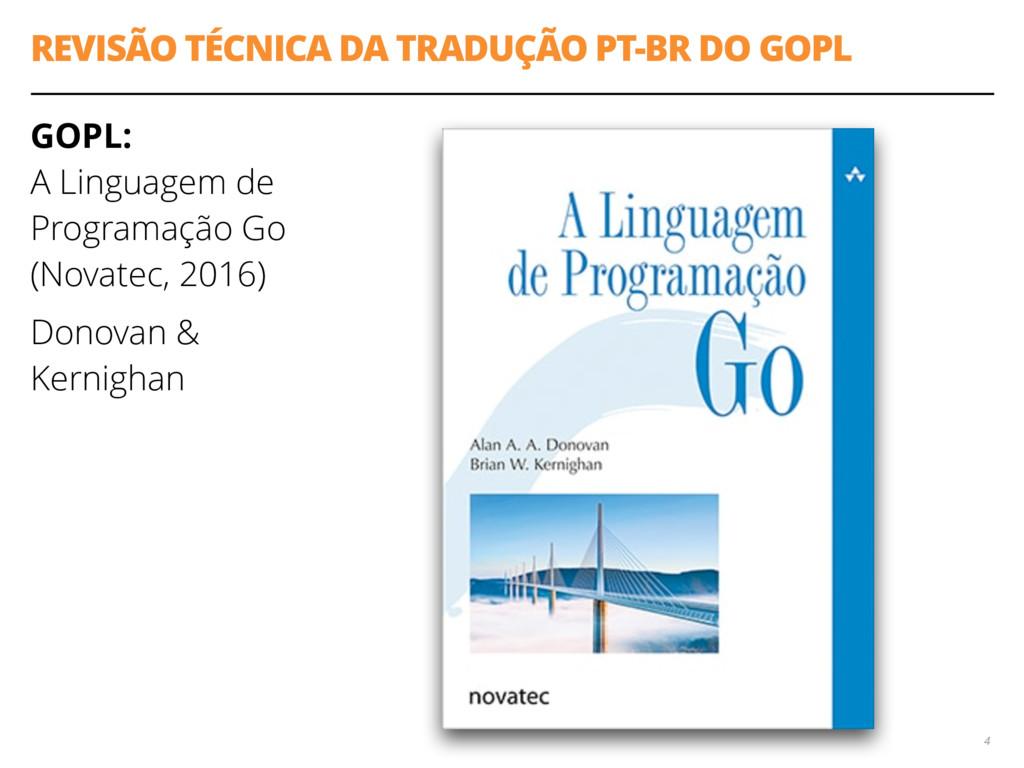 REVISÃO TÉCNICA DA TRADUÇÃO PT-BR DO GOPL GOPL:...