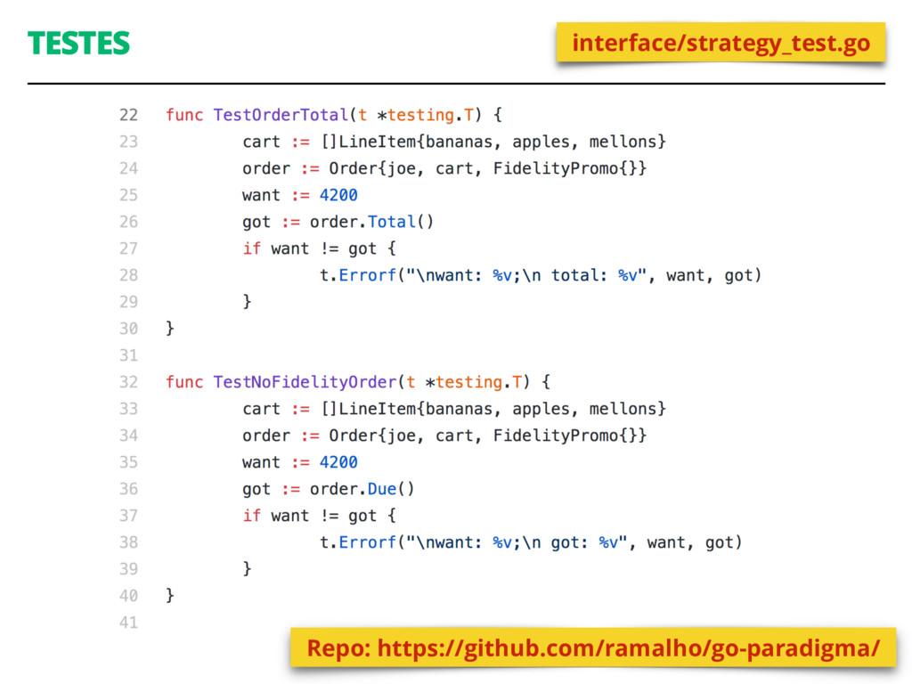 TESTES 52 interface/strategy_test.go Repo: http...