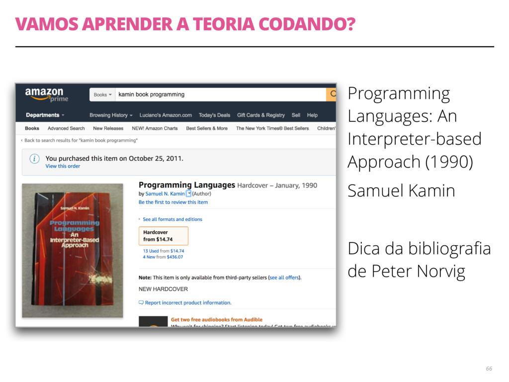 VAMOS APRENDER A TEORIA CODANDO? Programming La...